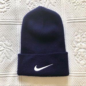 Nike Navy Blue Beanie